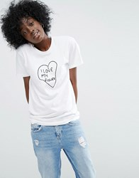 Asos Made In Kenya T Shirt With Embroidery White