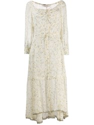 Dorothee Schumacher Pastel Floral Dress Yellow