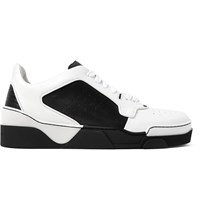 Givenchy Tyson Two Tone Leather Sneakers Black