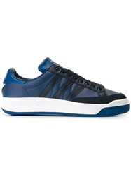 Adidas By White Mountaineering 'Court' Sneakers Blue
