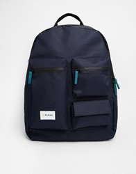 Farah Vintage Backpack Navy