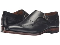 Stacy Adams Madison Ii Monk Strap Wingtip Black Men's Monkstrap Shoes