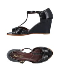Avril Gau Sandals Black