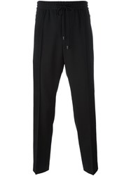 Juun.J Drawstring Fastening Trousers Black