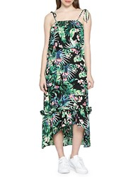 Walter Baker Tasha Tropical Maxi Dress Green