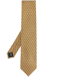 Ermenegildo Zegna Fan Patterned Tie 60