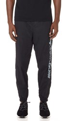 Opening Ceremony Crinkle Nylon Jogger Pants Black