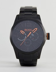 Boss Orange By Hugo Paris Watch With Black Dial