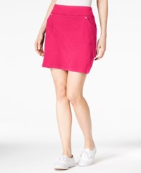 Styleandco. Style And Co. Pull On Cargo Skort Only At Macy's Pink Breeze