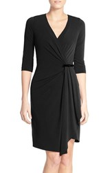 Women's Nydj 'Diana' Jersey Faux Wrap Dress