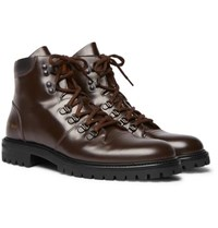 Common Projects Leather Boots Brown