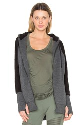 Alo Yoga Enhance Jacket With Sherpa Black