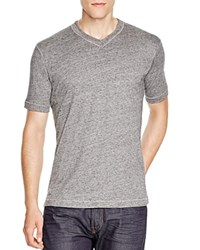 Robert Graham Nomads V Neck Tee Heather Grey