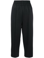 Marc Jacobs Contrast Stripes Track Trousers Black