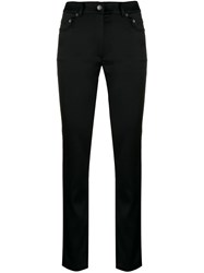 Moschino Classic Skinny Fit Trousers Black