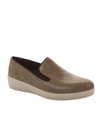 Fitflop Superskate Lizard Loafers Female Brown