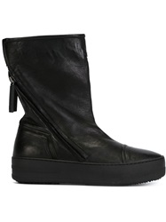 Bruno Bordese Zip Ankle Boots Black