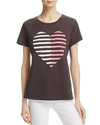 Sundry Heart Graphic Boyfriend Tee 100 Exclusive Summer Black