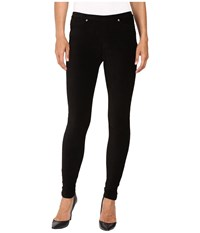 Michael Michael Kors Stretch Corduroy Leggings Black Women's Casual Pants
