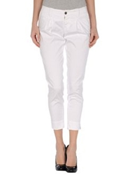 S.O.S By Orza Studio Casual Pants White