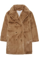 Golden Goose Kate Oversized Faux Fur Coat