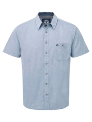Tog 24 Depth Short Sleeve Shirt Light Blue