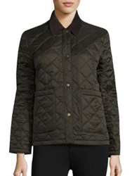 Barbour Summer Cropped Quilted Jacket Sage