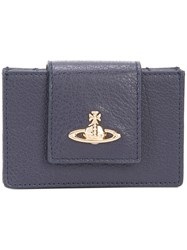 Vivienne Westwood 'Balmoral' Wallet Women Leather One Size Blue