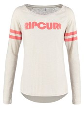 Rip Curl Active Long Sleeved Top Ecru Marl Off White
