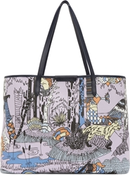 Mary Katrantzou Lavender Forest Flash Melina Tote