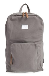 Men's Sandqvist 'Kim' Canvas Backpack Grey