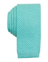 Original Penguin Knit Solid Tie Aqua