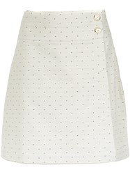 Lilly Sarti Polka Dot Skirt Cotton