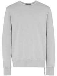 Ksubi Embroidered Detail Sweatshirt Blue