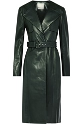 Jason Wu Belted Leather Trench Coat