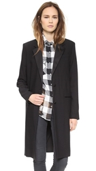 Blk Dnm Coat 11 Black