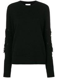 Barrie Round Neck Jumper Black