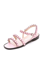 Opening Ceremony Mazzy Flat Sandals Blush Pink