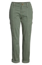 Jag Jeans Gable Stretch Twill Utility Pants Jungle Pal