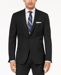 Ryan Seacrest Distinction Men's Ultimate Moves Modern Fit Stretch Solid Suit Jacket Created For Macy's Black