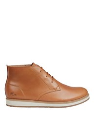 Lacoste Millard Chukka Boots Light Brown