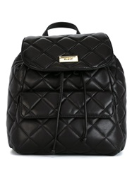 Dkny Quilted Backpack Black