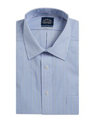 Eagle Striped Dress Shirt Periwinkle