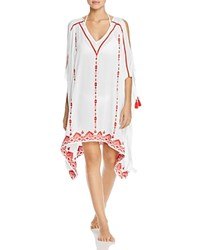 Parker Oceana Tunic Swim Cover Up Red
