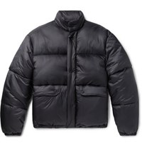 Our Legacy Lenox Oversized Quilted Shell Jacket Navy