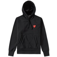 Comme Des Garcons Play Women's Pullover Hoody Black
