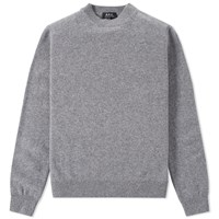 A.P.C. Submarine Crew Knit Grey