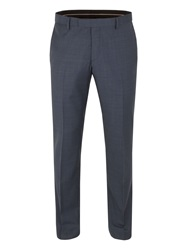 Alexandre Of England Plain Slim Fit Trouser Blue