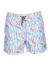 F K Project Swim Trunks White