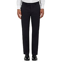 Barneys New York Men's Twill Harper Trousers Navy